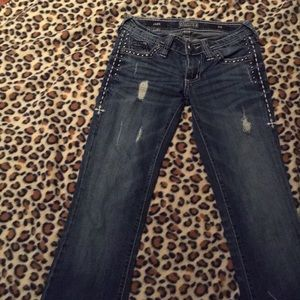 Affliction jade jeans size 24